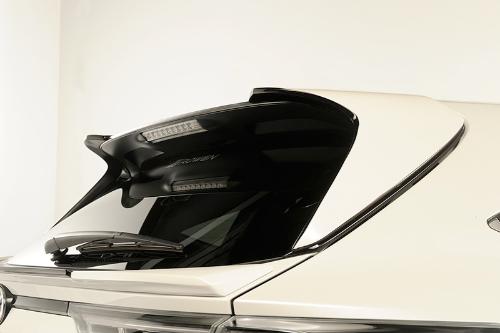 ROWEN SV PREMIUM Edition リヤルーフスポイラー(カーボン) トヨタ ハリアー/ハリアーハイブリッド ZSU60W/ZSU65W/ASU60W/ASU65W/AVU65W用 (1T017R10)【エアロ】ロェン エスブイプレミアムエディション