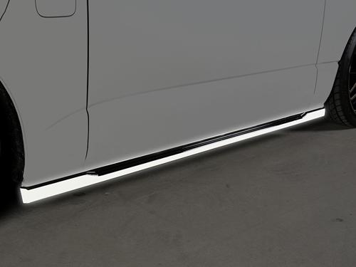 新作 ROWEN PREMIUM Edition サイドスタイルキット(ABS+FRP) 塗り分け塗装済み トヨタ ハイエース KDH/TRH20♯用 (2T019J20##)【エアロ】ロェン プレミアムエディション, RIZING 751eb0c3