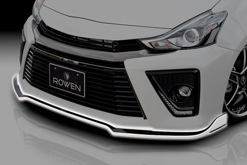 ROWEN ECO-SPO Edition フロントスポイラー(FRP) 単色塗装済み トヨタ プリウスα G's ZVW40/ZVW41用 (1T020A00#)【エアロ】ロェン エコスポエディション