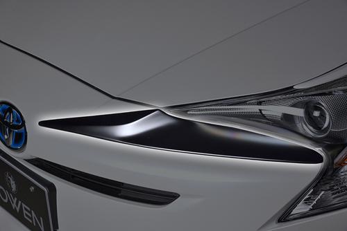 ROWEN ECO-SPO Edition フロントフェイスエクステンション(FRP) 塗装済み トヨタ プリウス ZVW50/ZVW51/ZVW55用 (1T022D00#)【エアロ】ロェン エコスポエディション