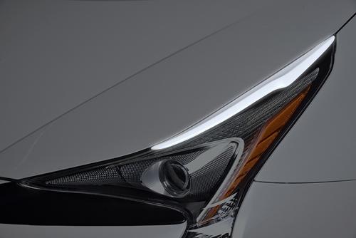 ROWEN ECO-SPO Edition アイラインガーニッシュ(FRP) 塗装済み トヨタ プリウス ZVW50/ZVW51/ZVW55用 (1T022H00#)【エアロ】ロェン エコスポエディション