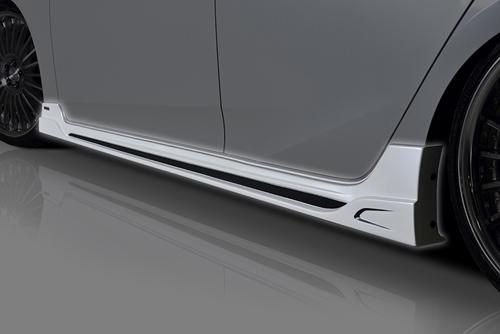 ROWEN ECO-SPO Edition サイドステップ(FRP) 単色塗装済み トヨタ プリウス ZVW50/ZVW51/ZVW55用 (1T022J00#)【エアロ】ロェン エコスポエディション