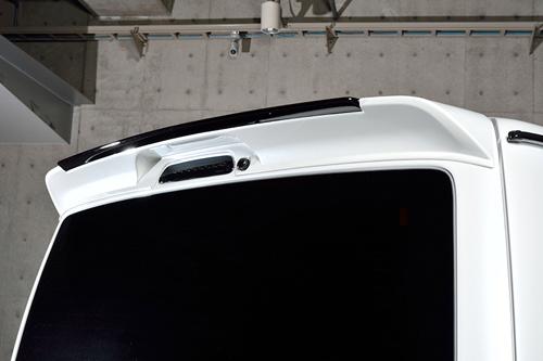 ROWEN CROSS BLAZE ルーフスポイラー(ABS) 単色塗装済み トヨタ ハイエース 4型 KDH/TRH20#用 (1T019R00#)【エアロ】ロェン クロスブレイズ
