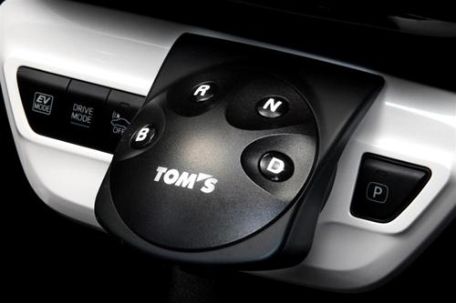 TOM'S SHIFT POSITION SWITCH トヨタ プリウス ZVW50用 品番:55404-TZW50【インテリアパーツ】トムス シフトポジションスイッチ