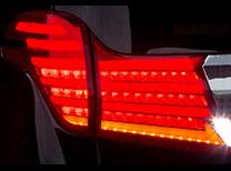 TOM'S LED TAIL LAMP トヨタ アルファード ハイブリッド MC前 AYH30用 (81500-TGH31)【電装品】トムス LED テールランプ