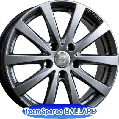 ホイール: CRIMSON Team Sparco BALLARE ホイールサイズ: 7.5J-17 タイヤ銘柄: MICHELIN Primacy3 タイヤサイズ: 205/55R17 タイヤ&ホイール4本セット【17インチ】
