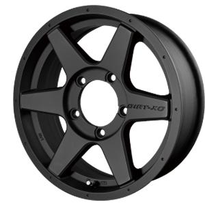 ホイール: B.S.J DIRT-XC II ホイールサイズ: 5.5J-16 タイヤ銘柄: DUNLOP GRANDTREK AT3 タイヤサイズ: 175/80R16 タイヤ&ホイール4本セット【16インチ】