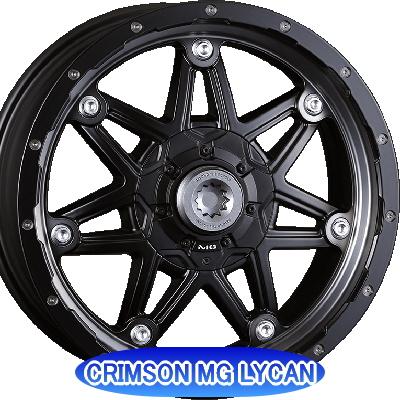 ホイール: CRIMSON MG LYCAN ホイールサイズ: 7.0J-16 タイヤ銘柄: DUNLOP GRANDTREK PT3 タイヤサイズ: 215/65R16 タイヤ&ホイール4本セット【16インチ】