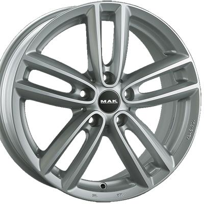 ホイール: MAK OXFORD ホイールサイズ: 7.0J-17 タイヤ銘柄: PIRELLI P-Zero NERO GT タイヤサイズ: 225/55R17タイヤ&ホイール4本セット【17インチ】