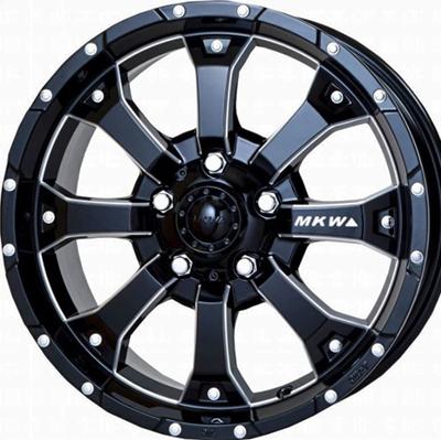 ホイール: MKW MK-46 M/L+ ホイールサイズ: 7.0J-16 タイヤ銘柄: TOYO TIRES OPEN COUNTRY R/T タイヤサイズ: 215/70R16 タイヤ&ホイール4本セット【16インチ】
