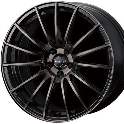 ホイール: WEDS SPORT SA-15R ホイールサイズ: 8.5J-19 & 9.5J-19 タイヤ銘柄: KENDA KAISER KR20 タイヤサイズ: 235/35R19 & 265/30R19 タイヤ&ホイール4本セット【19インチ】