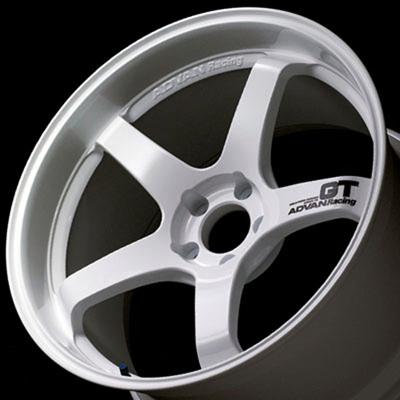YOKOHAMA ADVAN Racing GT 10.0J-18 レーシングホワイト 1本