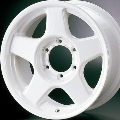 ホイール: 4x4 Engineering BRADLEY-V ホイールサイズ: 8.0J-17 ホイールカラー: パールホワイト 17インチ4本セット【ホイール単品】