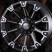 ホイール: CRIMSON MG MONSTER ホイールサイズ: 7.0J-16 タイヤ銘柄: BF Goodrich Mud-Terrain T/A KM3 タイヤサイズ: 235/70R16 タイヤ&ホイール4本セット【16インチ】
