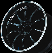 YOKOHAMA ADVAN Racing RS-D 10.0J-18 マシニング&ブラック 1本