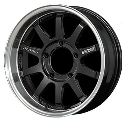 ホイール: RAYS KC DECOR A●LAP-J ホイールサイズ: 5.5J-16 タイヤ銘柄: YOKOHAMA GEOLANDAR A/T G015 タイヤサイズ: 175/80R16 タイヤ&ホイール4本セット【16インチ】