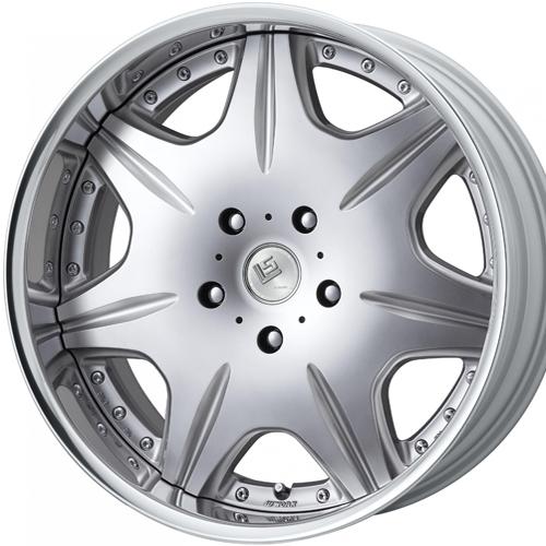 ホイール: WORK LS CHIAREZZA SUV ホイールサイズ: 9.5J-20 タイヤ銘柄: Continental Premium Contact6 タイヤサイズ: 285/50R20 タイヤ&ホイール4本セット【20インチ】