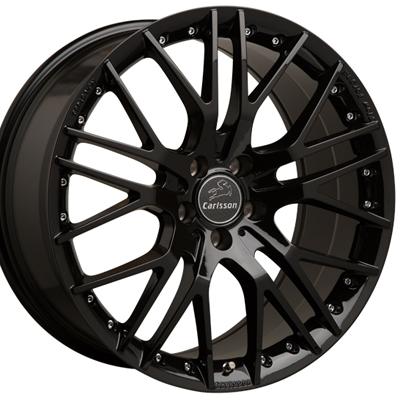 ホイール: Carlsson 1/10X RSF Black Edition ホイールサイズ: 8.5J-20 & 9.5J-20 タイヤ銘柄: PIRELLI P-Zero タイヤサイズ: 235/35R20 & 265/30R20 タイヤ&ホイール4本セット【20インチ】