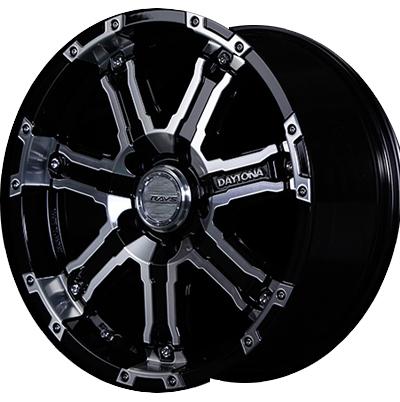 ホイール: RAYS DAYTONA FDX-D ホイールサイズ: 7.0J-16 タイヤ銘柄: TOYO TIRES OPEN COUNTRY R/T タイヤサイズ: 215/70R16 タイヤ&ホイール4本セット【16インチ】