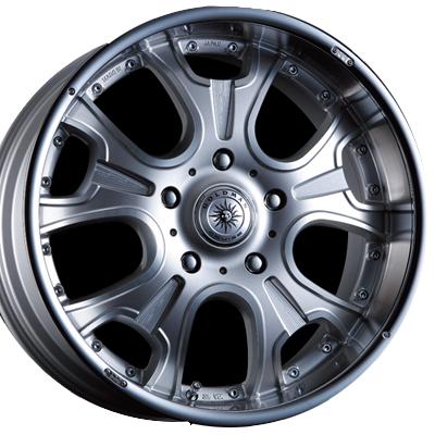ホイール: CRIMSON GOLDMAN CRUISE HERCULES F/A ホイールサイズ: 9.5J-20 タイヤ銘柄: Continental Premium Contact6 タイヤサイズ: 295/45R20 タイヤ&ホイール4本セット【20インチ】