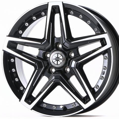 ホイール: JAOS VICTRON ASTELLA CM-03 ホイールサイズ: 7.5J-17 タイヤ銘柄: YOKOHAMA GEOLANDAR X-A/T G016 タイヤサイズ: 265/70R17 タイヤ&ホイール4本セット【17インチ】