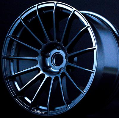 FEDERAL MF01R 8.5J-18 ブランメルブラック 1本【ホイール単品】フェデラル MF01R