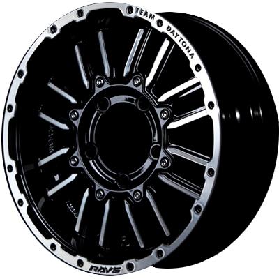 ホイール: RAYS TEAM DAYTONA MRX.J ホイールサイズ: 5.5J-16 タイヤ銘柄: YOKOHAMA GEOLANDAR A/T G015 タイヤサイズ: 175/80R16 タイヤ&ホイール4本セット【16インチ】