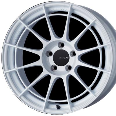 ENKEI Racing Revolution NT03RR 10.0J-18 グレイシャルホワイト 1本