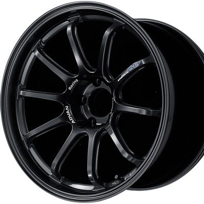 ホイール: YOKOHAMA ADVAN Racing RS-DF PROGRESSIVE ホイールサイズ: 8.0J-18 ホイールカラー: レーシングチタニウムブラック(TBK) 1本【ホイール単品】ヨコハマ アドバンレーシング