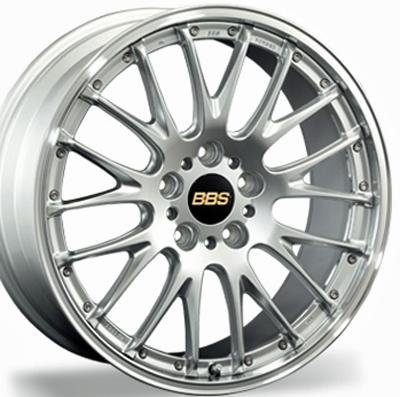 ホイール: BBS RS-N ホイールサイズ: 8.5J-20 & 11.0J-20 ホイールカラー: ダイヤモンドシルバーxシルバーダイヤカット(DS-SLD) 20インチ4本セット【ホイール単品】