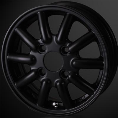 ホイール: DOALL Fenice RX1 ホイールサイズ: 4.00B-12 タイヤ銘柄: TOYO OPEN COUNTRY R/T タイヤサイズ: 145/80R12 80/78N タイヤ&ホイール4本セット【12インチ】