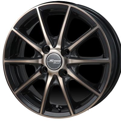 ホイール: MONZA R VERSION SPRINT ホイールサイズ: 4.5J-16 タイヤ銘柄: BRIDGESTONE POTENZA Adrenalin RE003 タイヤサイズ: 165/50R16 タイヤ&ホイール4本セット【16インチ】