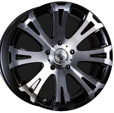 ホイール: CRIMSON GOLDMAN CRUISE TITAN ホイールサイズ: 10.0J-22 タイヤ銘柄: Conti Cross Contact UHP タイヤサイズ: 305/40R22 タイヤ&ホイール4本セット【22インチ】