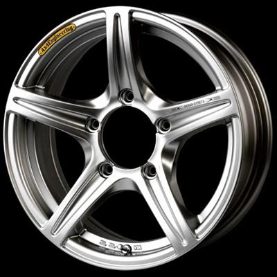 ホイール: 4X4Engineering URBAN SPORTS SV ホイールサイズ: 5.5J-15 タイヤ銘柄: ブリヂストン DUELER M/T674 タイヤサイズ: 215/75R15 タイヤ&ホイール4本セット【15インチ】
