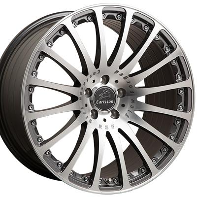 ホイール: Carlsson 1/16 RSF GT Diamond Edition ホイールサイズ: 8.5J-20 タイヤ銘柄: BRIDGESTONE REGNO GR-XII タイヤサイズ: 245/40R20 タイヤ&ホイール4本セット【20インチ】