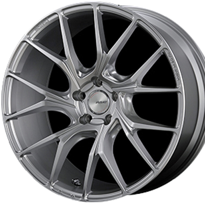 ホイール: RAYS HOMURA 2x7TW ホイールサイズ: 8.5J-20 タイヤ銘柄: YOKOHAMA ADVAN SPORT V105S タイヤサイズ: 225/35R20 タイヤ&ホイール4本セット【20インチ】