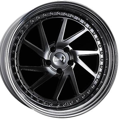 ホイール: SUPER STAR LEON HARDIRITT Balestra ホイールサイズ: 8.0J-19 タイヤ銘柄: BRIDGESTONE REGNO GRVII タイヤサイズ: 225/45R19 タイヤ&ホイール4本セット【19インチ】