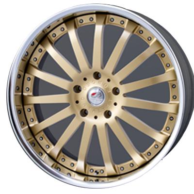ホイール: MEIWA ELFORD CATALYST FACE-2 ホイールサイズ: 10.0J-24 タイヤ銘柄: YOKOHAMA PARADA spec-X タイヤサイズ: 295/35R24 タイヤ&ホイール4本セット【24インチ】