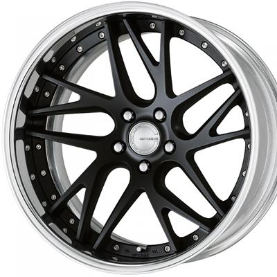 ホイール: WORK GNOSIS CVX ホイールサイズ: 8.0J-19 タイヤ銘柄: YOKOHAMA BluEarth RV-02 タイヤサイズ: 225/45R19 タイヤ&ホイール4本セット【19インチ】
