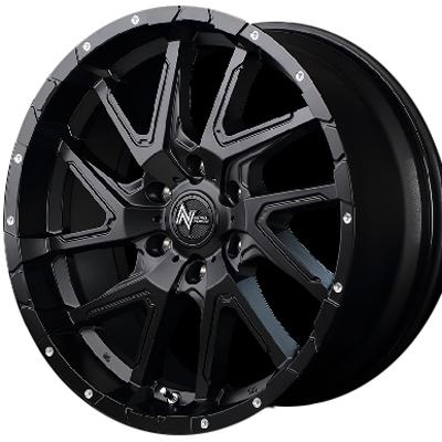 ホイール: MID NITRO POWER DERINGER ホイールサイズ: 6.5J-16 タイヤ銘柄: MICHELIN AGILIS タイヤサイズ: 215/65R16 109/107T タイヤ&ホイール4本セット【16インチ】