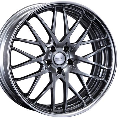 ホイール: SSR ABELA DM10 ホイールサイズ: 8.0J-19 タイヤ銘柄: NITTO NT555G2 タイヤサイズ: 225/45R19 タイヤ&ホイール4本セット【19インチ】