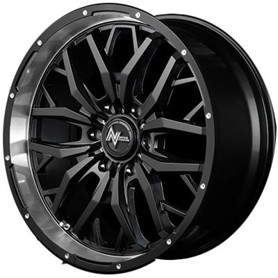 ホイール: MID NITRO POWER GADGET ホイールサイズ: 6.5J-16 タイヤ銘柄: DUNLOP ENASAVE RV503 タイヤサイズ: 215/65R16 109L タイヤ&ホイール4本セット【16インチ】