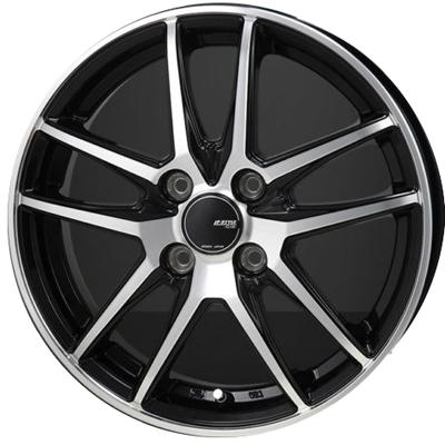 ホイール: MONZA JAPAN JP STYLE GRID ホイールサイズ: 4.00B-13 タイヤ銘柄: TOYO NANOENERGY3 PLUS タイヤサイズ: 165/65R13 タイヤ&ホイール4本セット【13インチ】