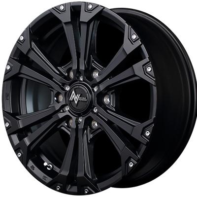 ホイール: MID NITRO POWER JAVELIN ホイールサイズ: 6.0J-15 タイヤ銘柄: MICHELIN AGILIS タイヤサイズ: 195/80R15 107/105R タイヤ&ホイール4本セット【15インチ】