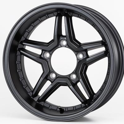 ホイール: JAOS EXCEL JX3 ホイールサイズ: 6.0J-16 タイヤ銘柄: DUNLOP GRANDTREK AT3 タイヤサイズ: 215/70R16 タイヤ&ホイール4本セット【16インチ】