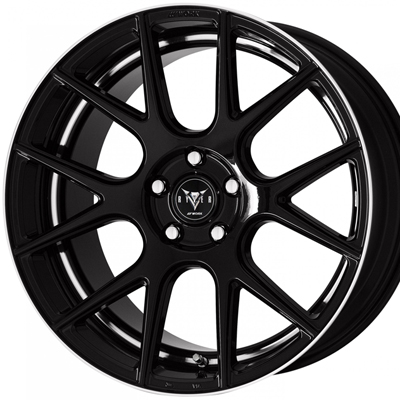 ホイール: WORK RYVER M006 ホイールサイズ: 8.5J-20 タイヤ銘柄: NANKANG Sportnex NS-25 タイヤサイズ: 225/35R20 タイヤ&ホイール4本セット【20インチ】