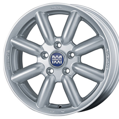 BMW 宅配便送料無料 MINI F55 F56 用 ミニライト ホイール: MINILITE MC-50 ホイールサイズ: 7.0J-17 PIRELLI NERO 205 タイヤ銘柄: ホイール4本セット GT P-Zero タイヤサイズ: 返品送料無料 17インチ 45R17タイヤ