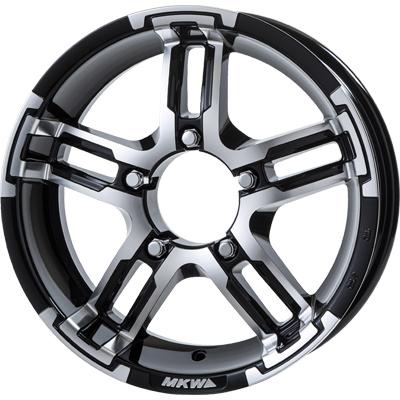ホイール: MKW MK-55J ホイールサイズ: 5.5J-16 タイヤ銘柄: TOYO TRANPATH M/T タイヤサイズ: 195R16C タイヤ&ホイール4本セット【16インチ】
