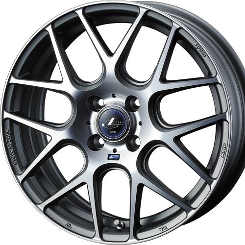 ホイール: weds LEONIS NAVIA 06 ホイールサイズ: 6.5J-17 タイヤ銘柄: DUNLOP DIREZZA DZ102 タイヤサイズ: 205/45R17タイヤ&ホイール4本セット【17インチ】
