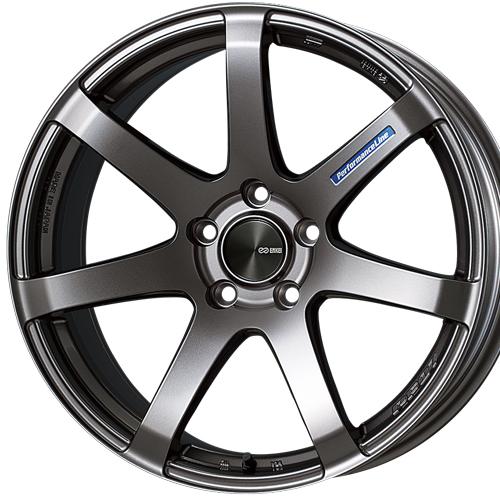ホイール: ENKEI PerformanceLine PF07 ホイールサイズ: 7.5J-18 タイヤ銘柄: DUNLOP ENASAVE RV504 タイヤサイズ: 225/55R18 タイヤ&ホイール4本セット【18インチ】